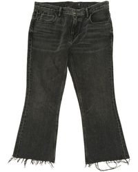 Alexander Wang - Pre-owned Black Cotton Jeans - Lyst