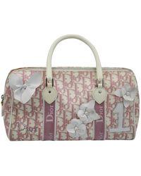 Dior Cloth Handbag - Pink