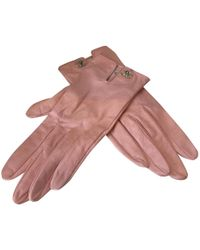 Chanel | Pre-owned Leather Gloves | Lyst