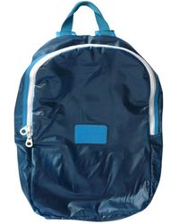 Marc By Marc Jacobs Blue Cloth Backpacks
