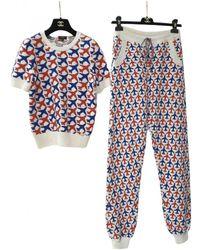 Chanel Cashmere Jumpsuit - Multicolour