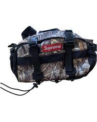 Supreme Leinen Taschen - Mehrfarbig