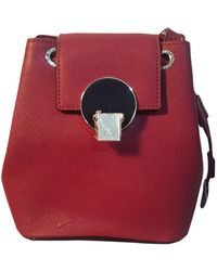 Vivienne Westwood Burgundy Synthetic Handbag - Red