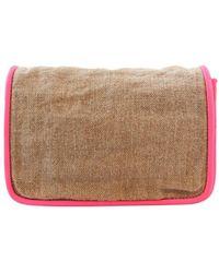 Theyskens' Theory Beige Cloth Handbag - Natural