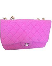 Chanel Timeless/Classique Handtaschen - Pink