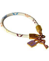 Louis Vuitton Monogram Leder Armbänder - Mehrfarbig