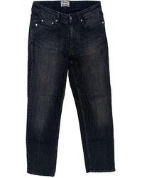 Acne Studios Row Straight Jeans - Multicolor