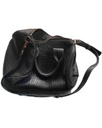 Alexander Wang Ace Leather Bowling Bag - Black