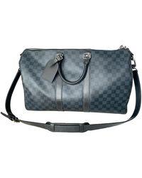 Louis Vuitton Borsa da viaggio Keepall - Blu