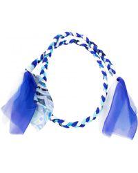 Emilio Pucci - Blue Silk Scarves - Lyst