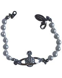 Vivienne Westwood Pearls Bracelet - Metallic