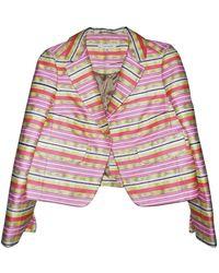 Carven Multicolor Cotton Jacket