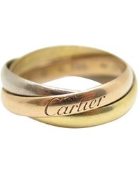 Cartier Trinity Gelbgold Ringe - Mehrfarbig
