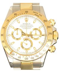 Rolex Vintage Daytona Other Gold And Steel Watches - Metallic