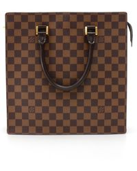1d051d1ba3ab Lyst - Louis Vuitton Venice Gm Damier Ebene Tote Bag - Vintage in Brown