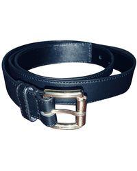 Michael Kors Leather Belt - Black