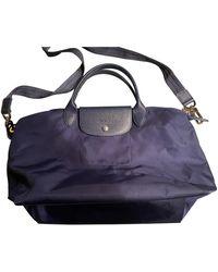 Longchamp Bolso Pliage - Azul