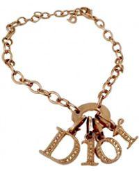 Dior Monogramme Armbänder - Mettallic