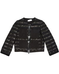 Sonia Rykiel Black Cotton Jacket