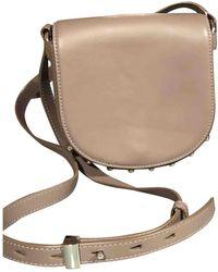 Alexander Wang Lia Leather Handbag - Gray