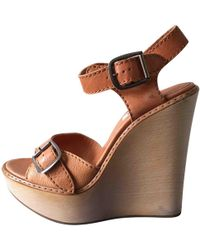 Chloé - Pre-owned Other Leather Sandals - Lyst