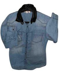 Maje Shirt - Blue