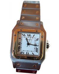 Cartier Santos Galbée Uhren - Mettallic
