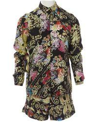 Philipp Plein - Multicolour Silk Shorts - Lyst
