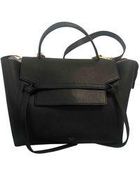 Celine Belt Leder Handtaschen - Schwarz