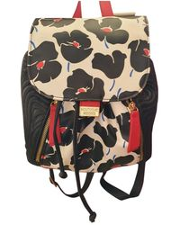 Moschino Leather Backpack - Black