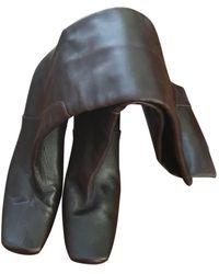 Marni Riding Boots - Brown