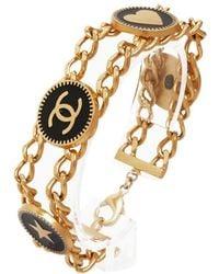 Chanel Cc - Metal Bracelets - Metallic