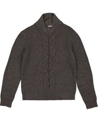 Dior Grey Wool Knitwear & Sweatshirt - Gray