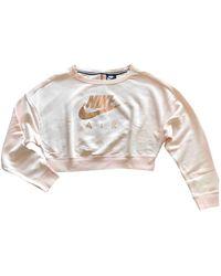 Nike Jersey en algodón rosa