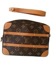 Louis Vuitton Soft Trunk Mini Leinen Taschen - Braun