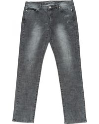 Michael Kors Pre-owned Grey Cotton - Elasthane Jeans