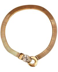 Givenchy Gold Metal Necklaces - Multicolour