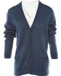 Marc Jacobs - Blue Wool Knitwear & Sweatshirts - Lyst