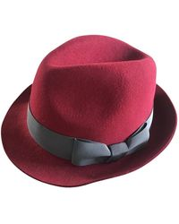 Zadig & Voltaire Red Wool Hat