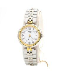 Hermès Clipper Uhren - Mettallic