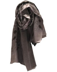 Marc By Marc Jacobs Beige Cotton Scarf - Natural