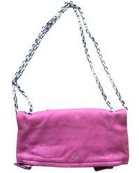 IRO Leather Clutch Bag - Multicolour