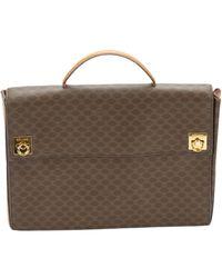 Céline Brown Leather Handbag