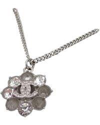 Chanel Collar en metal - Metálico