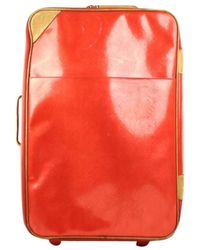 Louis Vuitton Pegase Red Patent Leather