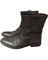 Étoile Isabel Marant - Pre-owned Leather Boots - Lyst