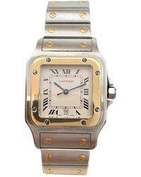 Cartier Santos Galbée Uhren - Mehrfarbig