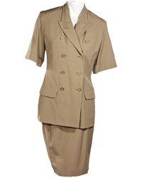 Jean Paul Gaultier Skirt Suit - Natural