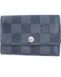 Louis Vuitton - Black Synthetic Small Bag Wallets & Cases - Lyst