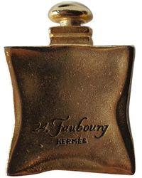 Hermès Spilla in metallo dorato - Multicolore